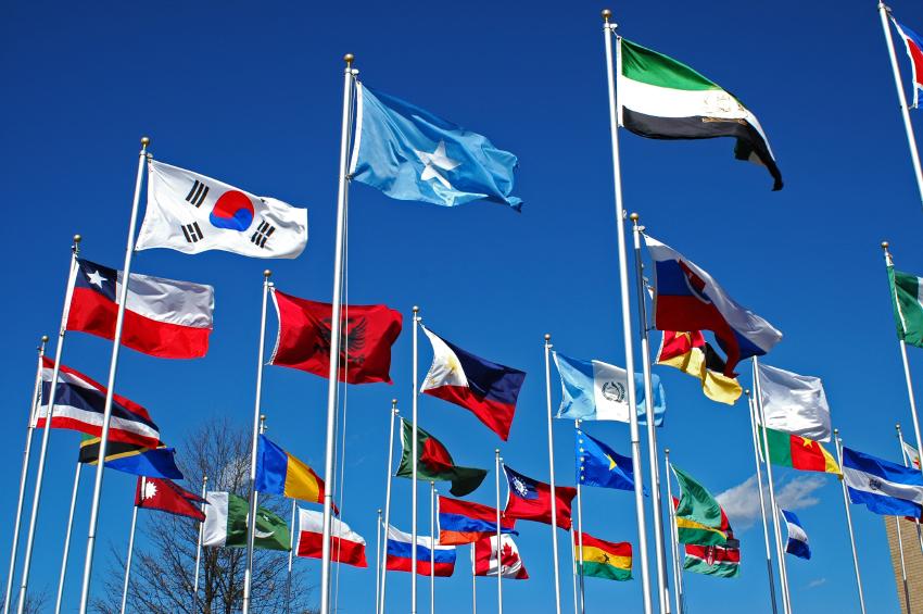 Výroba vlajek pro firmy